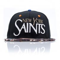 Cayler & Sons Saints Black Cap