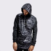 Cayler & Sons WL Infinity Long Hoody Black Marble Gold