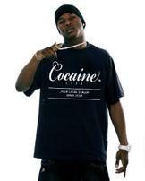 Cocaine Life Basic Large Logo Tee Black