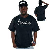 Cocaine Life Basic Logo Tee Black