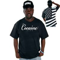 Cocaine Life Country Hunter Tee Black
