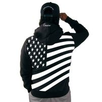 Cocaine Life Country Hunter Zip Hoodie Black