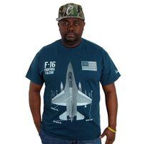 Cocaine Life F16 T-shirt Midnight Navy
