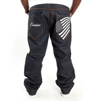 Cocaine Life Stars & Stripes Jeans Raw Denim