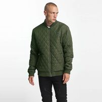 Cyprime / Bomber jacket Quilted Bomber in olive