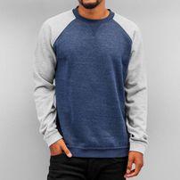 Cyprime Raglan Sweatshirt Blue/Grey Melange