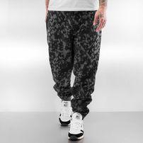 Dangerous DNGRS Basic Sweat Pants Black Camouflage