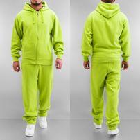 Dangerous DNGRS Basic Sweat Suit Lime Green