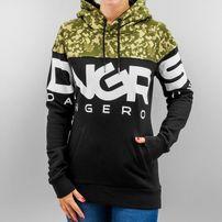 Dangerous DNGRS Big Logo Hoody Jet Black/Camouflage