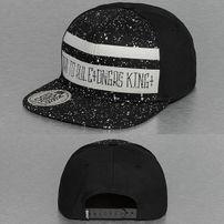 Dangerous DNGRS Born To Rule  Snapback Cap Black