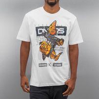 Dangerous DNGRS Butterfly T-Shirt White