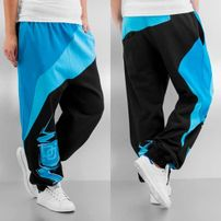 Dangerous DNGRS Classic Sweat Pants Black/Turquoise