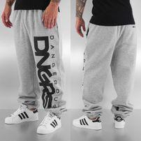 Dangerous DNGRS Classic Sweat Pants Grey Melange