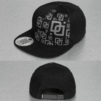 Dangerous DNGRS Double D Snapback Cap Black