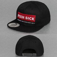 Dangerous DNGRS FCKN SICK Snapback Cap Black