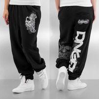 Dangerous DNGRS Flower Sweatpants Black