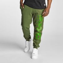 Dangerous DNGRS Full Anger Sweatpants Green