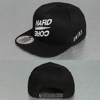 Dangerous DNGRS Hard Core Snapback Cap Black