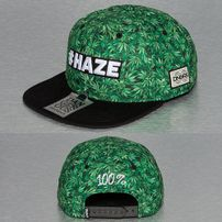 Dangerous DNGRS Haze Snapback Cap Black/Weed