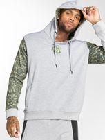Dangerous DNGRS / Hoodie Broker in grey