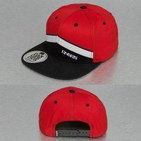 Dangerous DNGRS Kreuzberg Snapback Cap Red