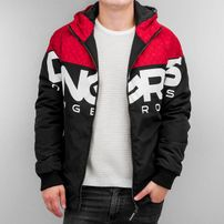 Dangerous DNGRS Morrison Windbreaker Red/Black