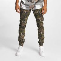 Dangerous DNGRS Skullcamo  Slim Fit Jeans Camouflage