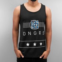 Dangerous DNGRS Star Tank Top Black