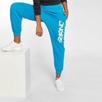 Dangerous DNGRS / Sweat Pant Soft Dream Leila Ladys Logo in turquoise