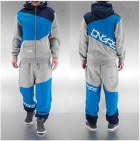 Dangerous DNGRS Sweat Set DNGRS Suit Denim in grau
