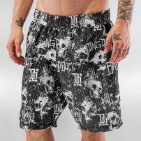 Dangerous DNGRS Swim Shorts Black/White