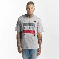Dangerous DNGRS / T-Shirt Uncaged in grey