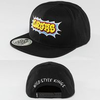 Dangerous DNGRS Wildstyle Snapback Cap Black