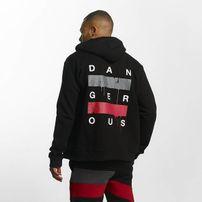 Dangerous DNGRS / Zip Hoodie Uncaged in black