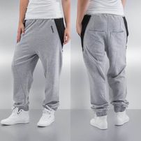Dangerous DNGRS Zip Sweatpants Grey