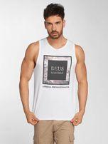 Deus Maximus / Tank Tops Fiori in white