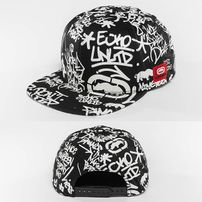 Ecko Unltd. Graffiti Snapback Cap Black