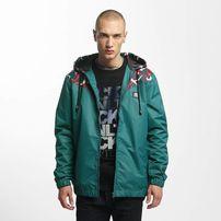 Ecko Unltd. / Lightweight Jacket Tony Tornado in turquoise