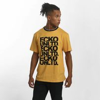 Ecko Unltd. / T-Shirt Fuerteventura in yellow