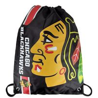 Forever Collectibles NHL Cropped Logo Gym Bag Blackhawks