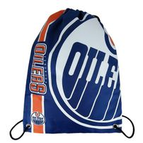 Forever Collectibles NHL Cropped Logo Gym Bag Oilers