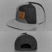 Just Rhyse 3 Tone Snapback Cap Grey