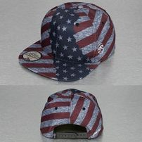 Just Rhyse America Snapback Cap Colored