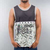 Just Rhyse Billions Bros Bitches Tank Top Black