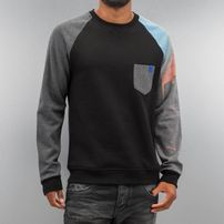 Just Rhyse City Sweatshirt Jet Black/Grey