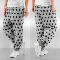 Just Rhyse Dots Sweat Pants Grey Melange