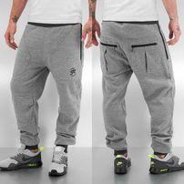Just Rhyse Lenny Sweat Pants Grey Melange