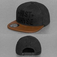 Just Rhyse Logo Cap Anthracite