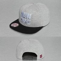 Just Rhyse New York Style Snapback Cap Grey