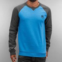 Just Rhyse Oslo II Sweatshirt Dark Grey Melange/Turquoise Melange